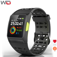 WQ P1 ECG PPG Smart Watch HRV Analysis ECG Monitor GPS Motion Track Sports Watch 50M Waterproof ECG PPG Smartwatch Heart Rate