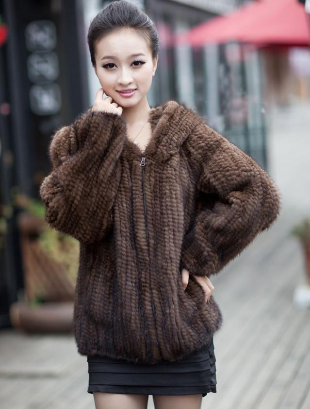 Aliexpress.com : Buy Hot Sale Real Fur Coats Women Handmade ...