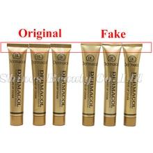 100% original Dermacol Base Makeup Cover 30g Primer Concealer Base Professional Dermacol Make up Foundation Contour Palette