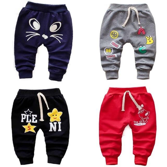 cf03e359f Pantalones largos para bebés y niñas primavera y otoño 0-3 años 2018 pantalones  para