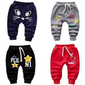 baby boys and baby girls spring and autumn long pants 0-3 years 2018 baby and toddler pants new design cartoon cute Baby Pants