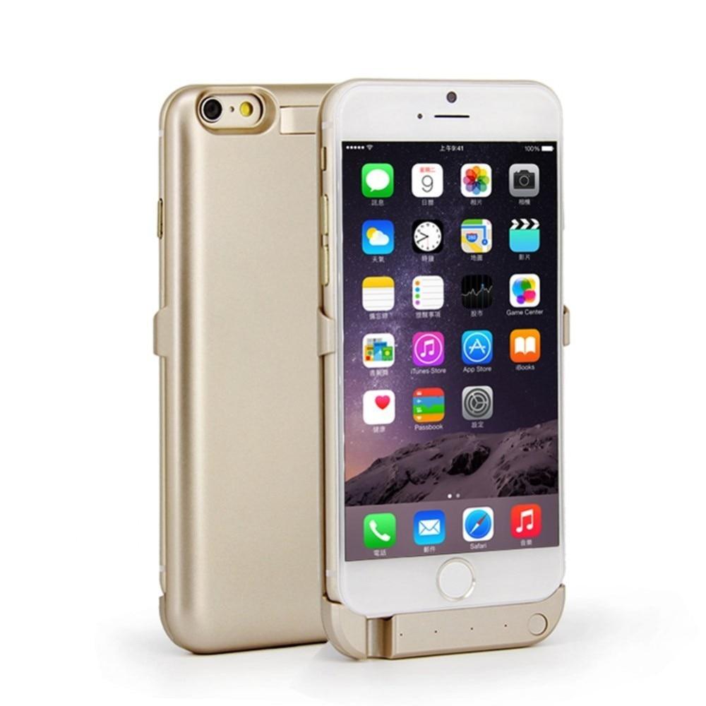 imágenes para 10000 Mah Caso de la Energía Para el iphone 7/7 Más La Batería cargador de Batería de Respaldo Cubierta del Banco de la Energía Inteligente Para iPhone7 Plus caso
