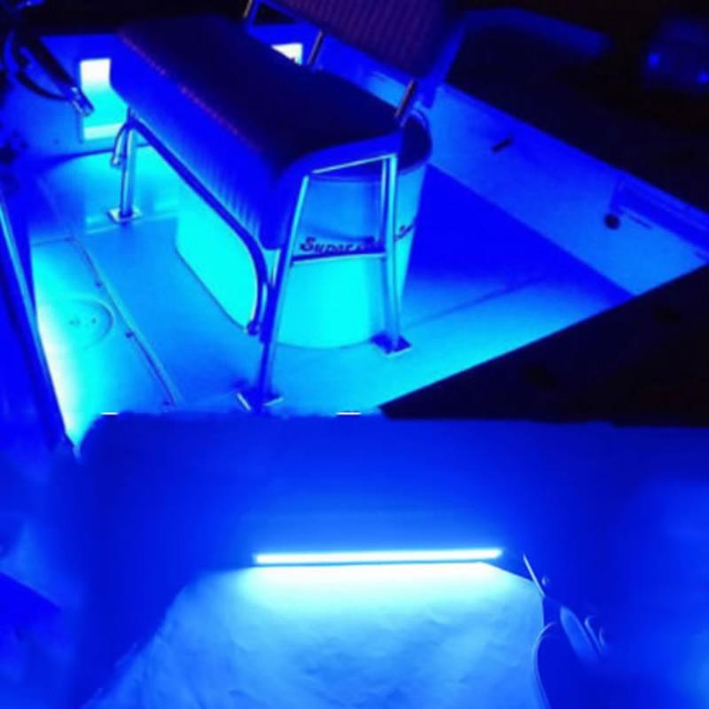 12 V Waterproof Blue Marine Led Light Courtesy & Utility Strip For Boats