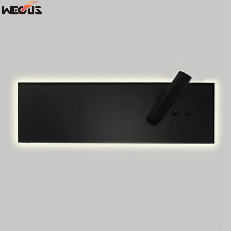 Adjustable dual control switch LED wall light, living room background wall light, corridor aisle bedroom bedside lamp