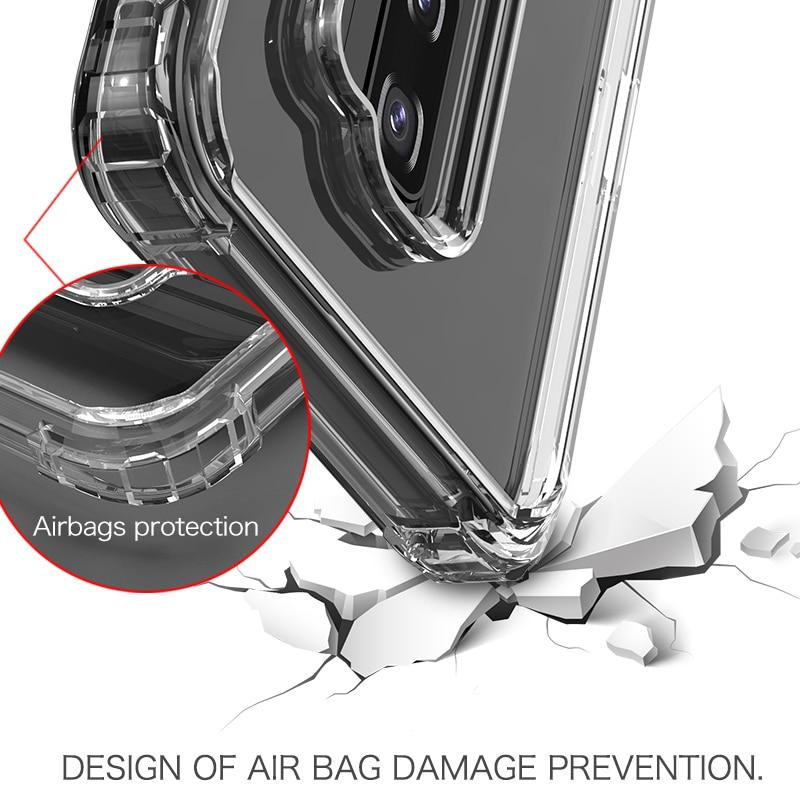 Samsung Galaxy S10 Case IPAKY S9 S9 Plus- ի վերադառնալ TPU - Բջջային հեռախոսի պարագաներ և պահեստամասեր - Լուսանկար 4