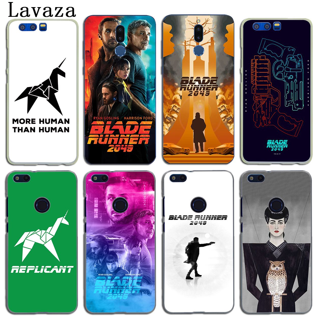 Lavaza Blade Runner 2049 film Case for Huawei Y6 Y5 Y3 II Y7 2017 2018 Nova 2 Plus 2S 2i Honor 10 9 8 Lite 7 6 6A 7X 6X 6C Pro ...