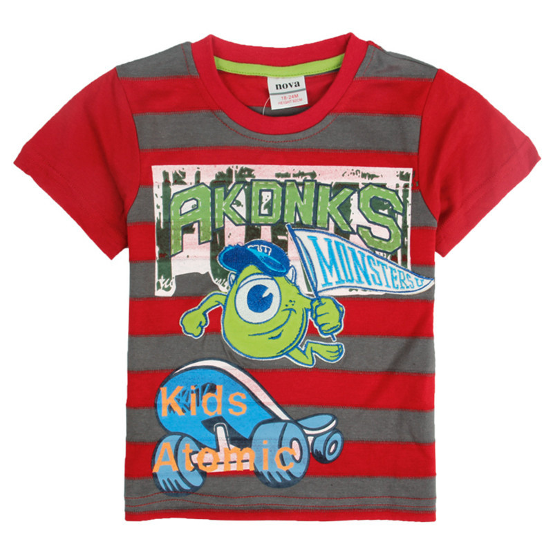 NOVA-Boys-T-Shirts-2015-stylish-design-t-Casual-pocket-car-embroidery-stripe-t-shirt-summer-O-neck-T-Shirts-for-2-6y-boys-2
