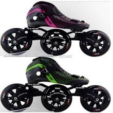 Powerslide VISION inline skating shoes three speed skating shoes skate 120 wheel roller skating shoes
