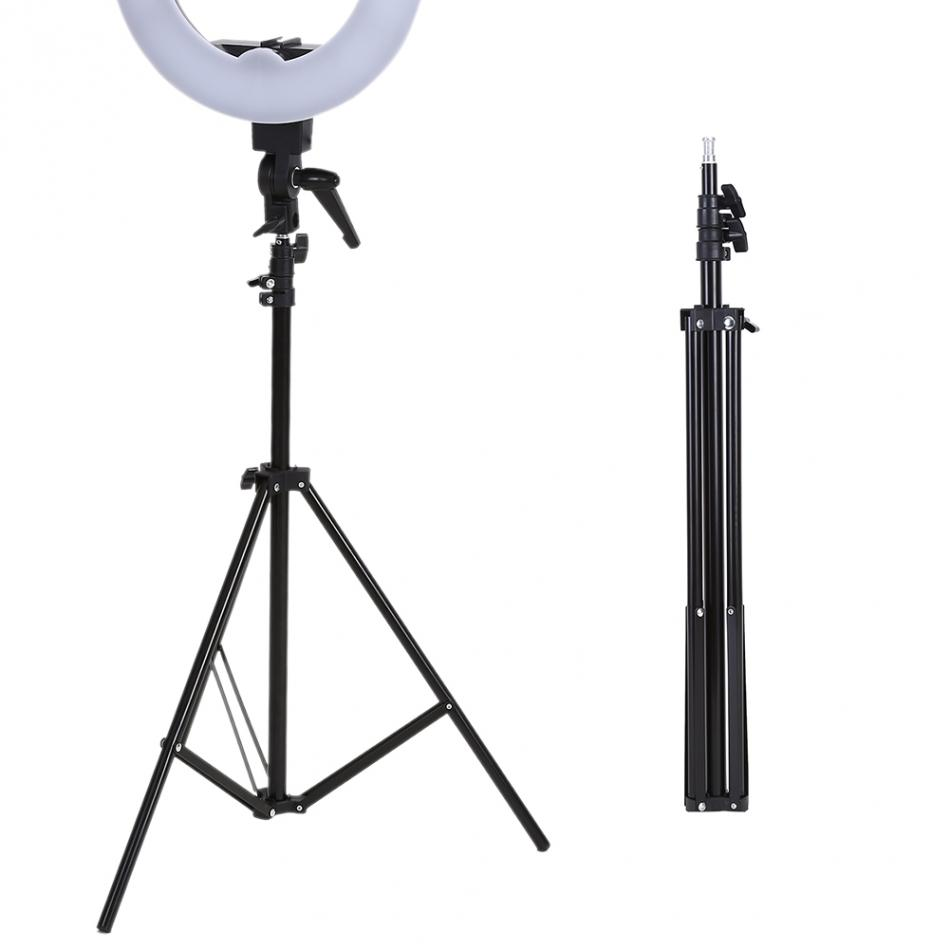 6 56 2m Folding Flash Light Tripod Stand Photo Studio Accessory for Softbox Photo Video Lighting