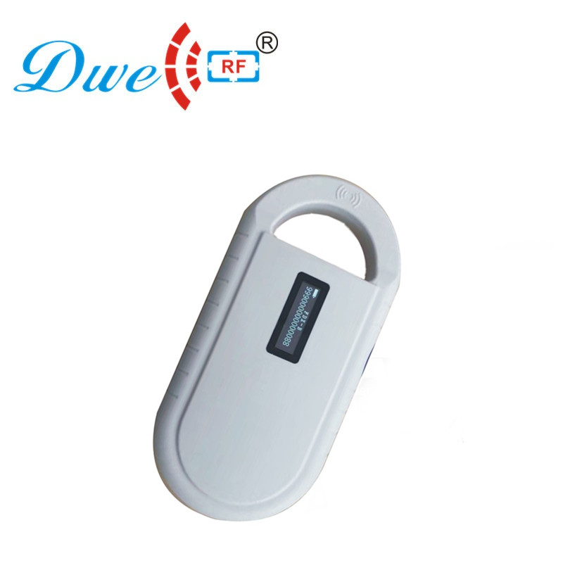 Free shipping 125khz rfid reader 134.2khz  dog scanner sheep micro mini chip chip reader for animals                            Free shipping 125khz rfid reader 134.2khz  dog scanner sheep micro mini chip chip reader for animals