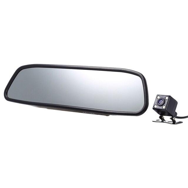KELIMA Универсальный 4.3 дюймов 480x272 TFT Экран Автомобиля Резервную Обратный Система Зеркало Заднего Вида Бесплатная Доставка для Автомобильных Транспортных Средств