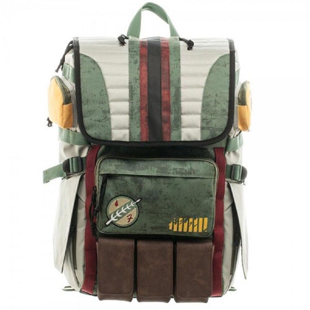 все цены на Star Wars Notebook backpack good quality travel double shoulder Bag men's multi-pocket backpack student Bag