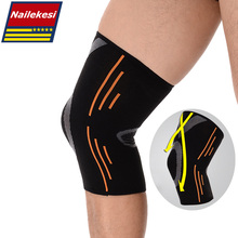 2016 Breathable Basketball Football Sports Safety Kneepad High Elastic Volleyball Knee Pads Brace Training Knee Support Protect
