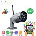 IPCC IP Камера 1080 P беспроводной CCTV Камеры Безопасности Ночного Видения, водонепроницаемая открытый ABS Пуля Камеры ВИДЕОНАБЛЮДЕНИЯ для сада монитор