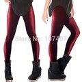 Lowest price 2014 Winter Leggings Casual Wine Red Velvet Leggings Warm Fitness Legging Plus Size women pants PUNK Adventure Time