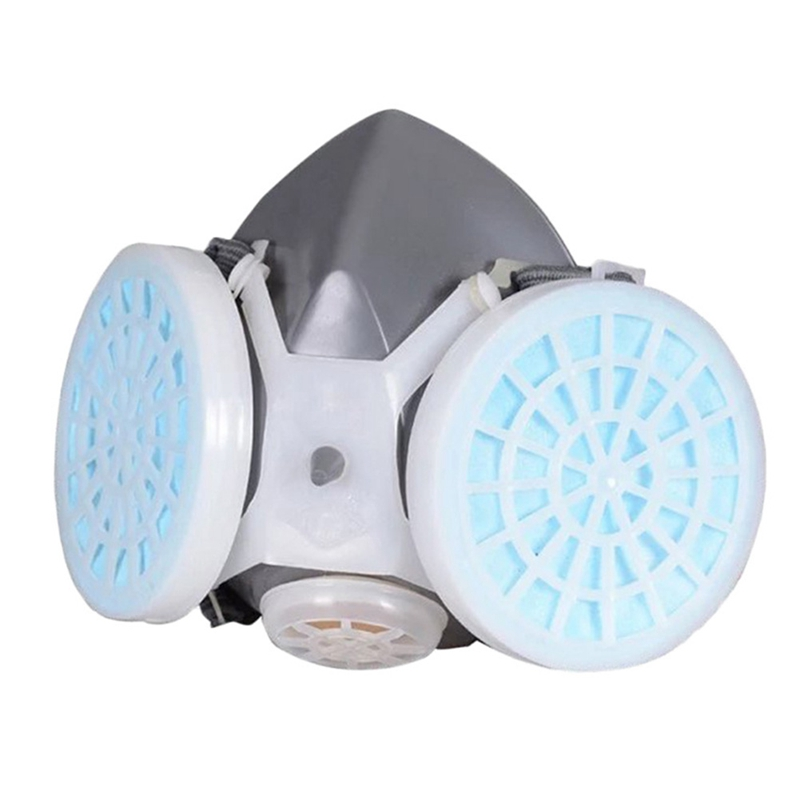 Anti Dust Respirator Mask Filter Polishing Industrial Paint Spraying Decorate Protective mask Workplace Safety PM2.5 3m 8822 safety protective mask anti pm2 5 ffp2 standard anti industrial dust high electrostatic filter h012817