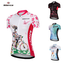 Mieyco Cycling Jersey Women MTB Summer Clothing Outdoor Pro Team Maillot Bicycle Tops Shirt Bike Jerseys