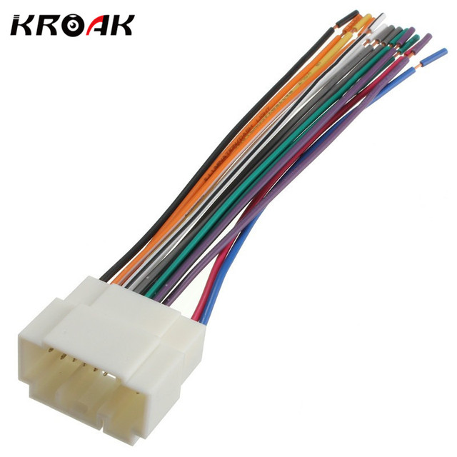 Car Stereo CD Player Wiring Harness Wire Adapter Plug For Honda ...