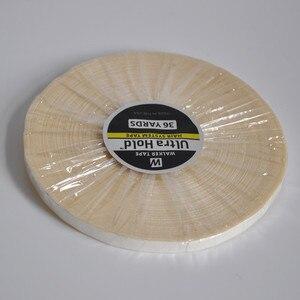 Image 2 - 0.8cm * 36yards saç sistemi bant Ultra tutmak için çift taraflı yapışkan bant bant saç uzatma/peruk/dantel peruk