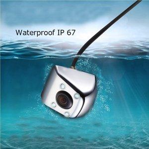 Image 2 - Podofo HD dikiz su geçirmez Metal gövde araba dikiz kamera 170 derece geniş açı araba dikiz kamera reversing geri görüş kamerası