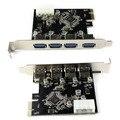 4-портовый USB 3.0 Для PCI-E Карт Экспресс Карты Расширения Адаптер USB Разъем ЧЕРЕЗ 5 Гбит