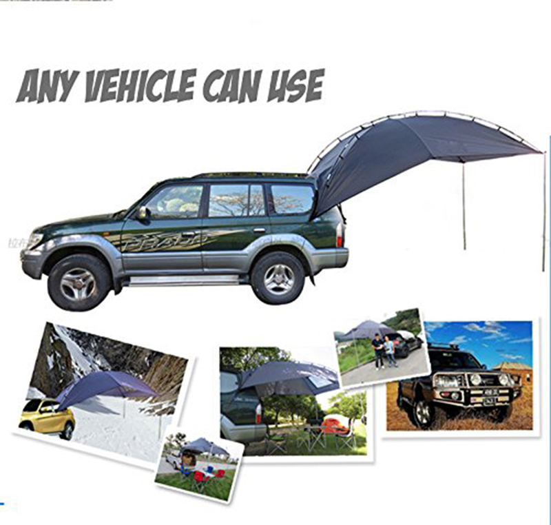 DANCHEL Car Family Awning Camper Camping Tent For All SUV MPV Anti Uv Canopy Tenda Tents Tienda De Techo In From Sports Entertainment On