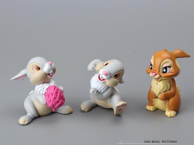 7PCS//Set Lovely Bambi PVC Action Figure Model Toys Dolls