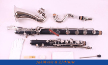 цены (Low C ) Bass Clarinet Bb Key Hard Bakelite Body Nickel Plated