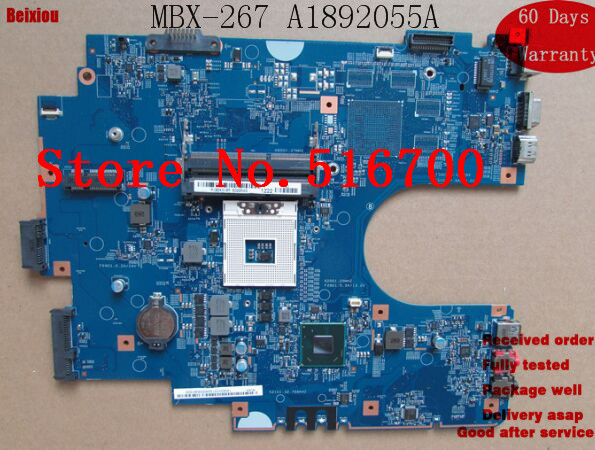 Mainboard A1892055A For Sony SVE17 Series MBX-267 Laptop Motherboard 100% fully tested