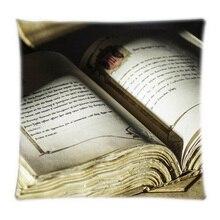 Venta al por mayor el libro de Brothers Best Home Square funda de almohada con cremallera lados dobles impresión duradera Throw almohada cubierta
