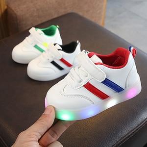New Kids shoes Led shoes Casua