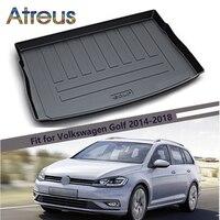 Atreus For 2014 2018 Volkswagen Golf 7 VW Golf GTI R MK7 Accessories Car Rear Boot Liner Trunk Cargo Mat Tray Floor Carpet Pad