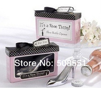 Free Shipping It S A Shoe Thing Shoe Beer Bottle Opener Party Wedding Favors And Gifts