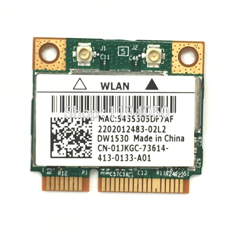 US $7 8 |Dell Optiplex 3010 7010 9010 Bcm43228hm4l Dw1530 WIFI CARD WLAN  2 4G/5G 300M Wireless Wifi Mini Pcie Half Card-in Network Cards from  Computer