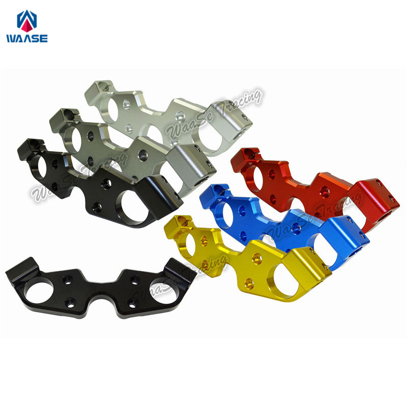 waase Front Fork Lowering Triple Tree Upper Top Clamp Yoke For Suzuki GSX1300R GSX-R GSXR 1300 1999 2000 2001 2002 2003-2007 for bmw 3 series e36 318 328 323 325 front coilover strut camber plate top mount green drift front domlager top upper mount