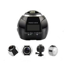 360 градусов 4 К Wi-Fi панорамный Камера Ultra HD 30 м Водонепроницаемый Sport Driving 4 К Камера VR Камера мини DV Камера Бесплатная доставка