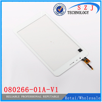 Original 8 Inch 080266 01A V1 Touch Screen Panel Digitizer Glass Replacement Parts Free Shipping Black