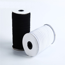 100 Yards 1 cm Wide Elastic Spool Cord Band Flat Knitting Sewing Stretch Rope