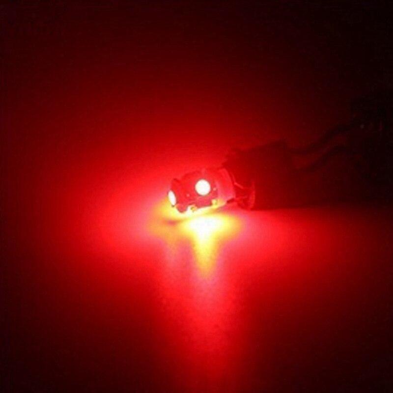 Katur 10pcs T10 W5W LED Bulb 5 SMD LED White Blue Red Yellow Green 194 168 Katur 10pcs T10 W5W LED Bulb 5 SMD LED White Blue Red Yellow Green 194 168 Super Bright wedge Lights bulbs Lamps 12V 5050 SMD