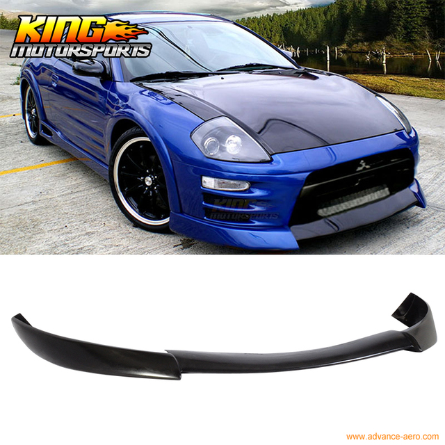 for 2000 2002 mitsubishi eclipse ss style front bumper lip air chin