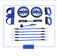 Abdominal Exercise Rollers or Abdominal Wheel with Other Fitness Equipments for Fitness Exercise at Home or Gym