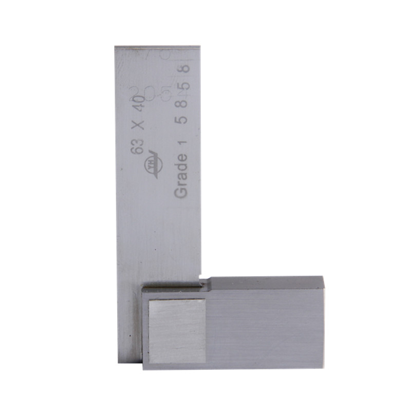 Angle Ruler Gauge 63*40mm 90 degree Grade 1 Angle 90 Degree Square Tools Stainless Steel Measure Tools 1kg food grade deacetylation degree 90