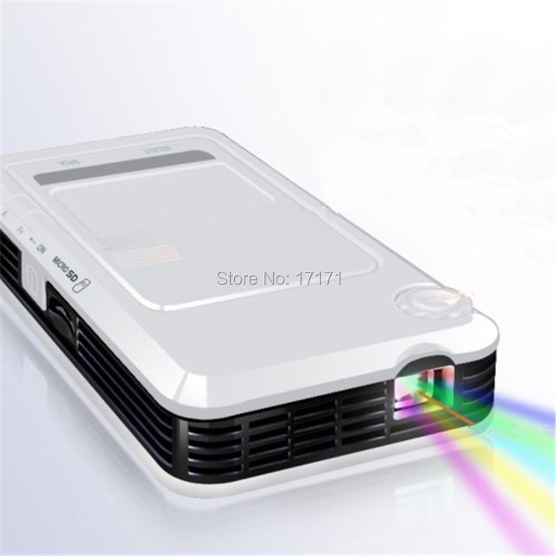 Dlp led mini projector home personal theater wince for Dlp micro projector