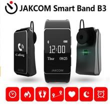 Jakcom B3 Banda Inteligente Monitor de Freqüência Cardíaca Relógio podômetro Para Xiaomi Mi Banda 2 Pulseira Talkband inteligente Pulseira Inteligente Pulseira