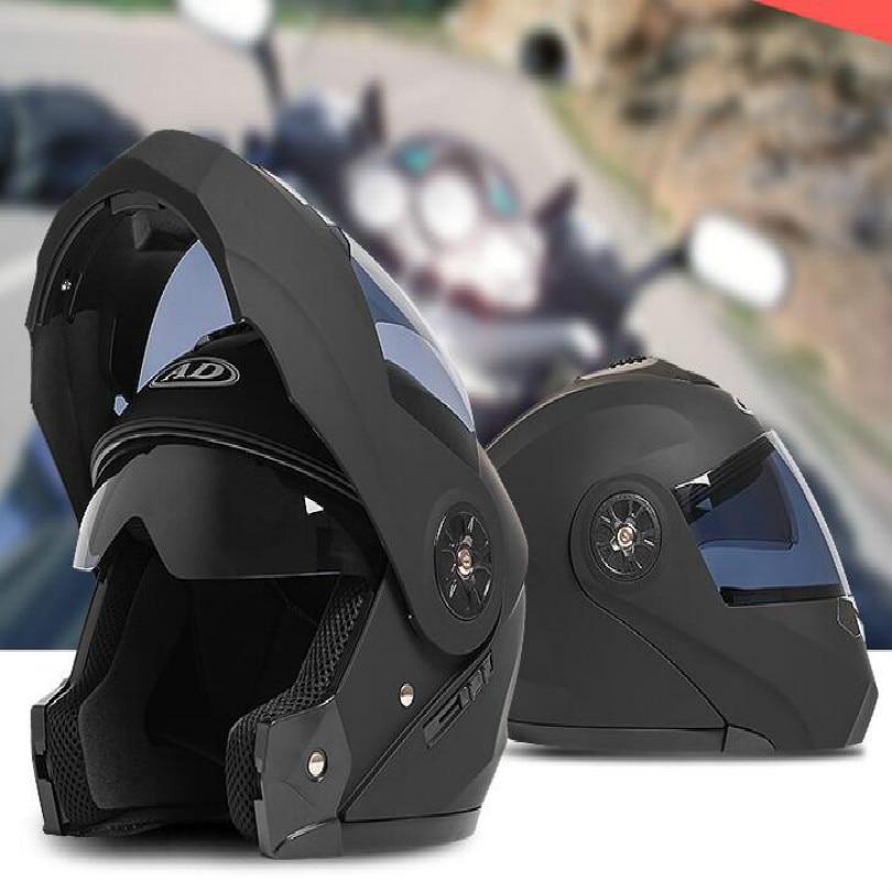 Hochwertige klapphelm doppelobjektiv motorrad helm capacetes de motociclista motocross helm motorrad schwarz silber