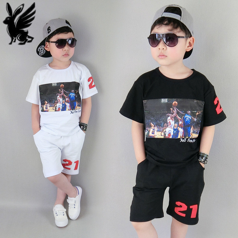 boys clothing Sets 2017 new summer children basketball suit big kids outfit sport clothes toddler 5-14yrs boys t-shirts+pants 2015 new arrive super league christmas outfit pajamas for boys kids children suit st 004