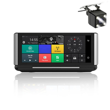 Car DVR GPS MT6735 3G/4G 6.86 16GB Android 5.0 Camera WIFI HD 1080P Video Recorder Parking Monitoring Free Upgrade Map