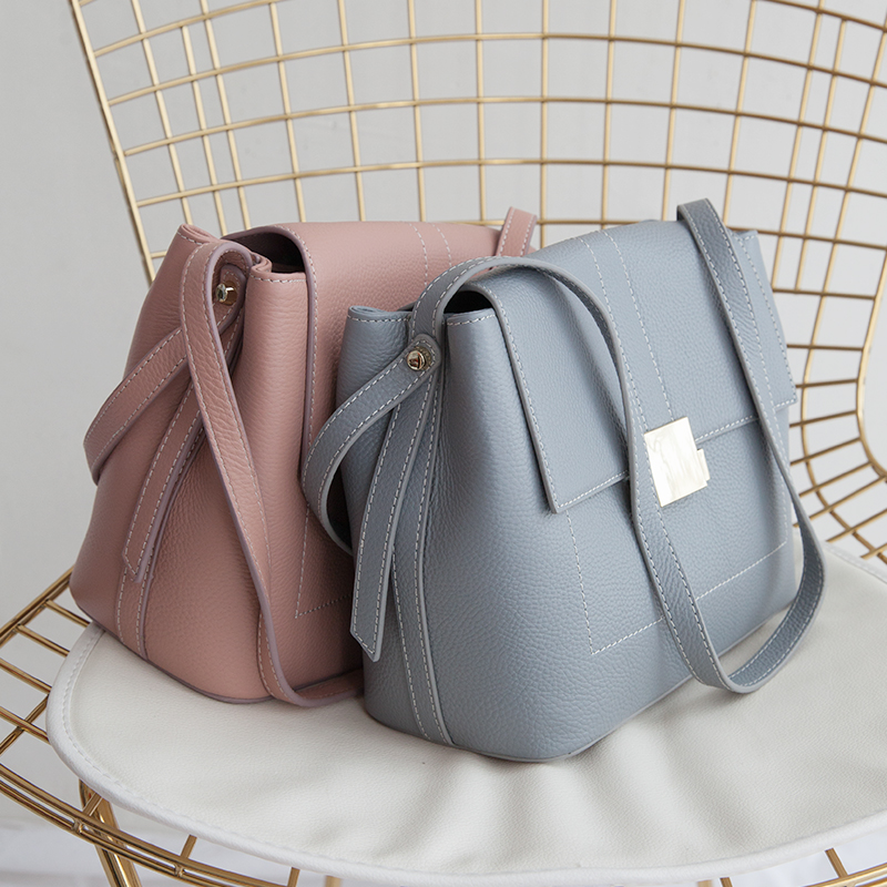 Pour Bandoulière Luxe Elegance Cuir blue rust chocolate En Black À 2018 Femme Linen De pink Messenger White Sac Femmes Bolso Main Mujer Designer Lady Sacs rice gray Véritable Red EqPwt