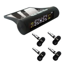 Automotive Solar Tire Pressure Monitoring TPMS Built in Sensor Tire Pressure Detection System