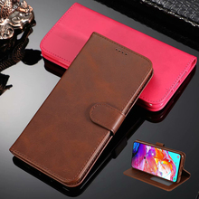 For Samsung Galaxy A60 Case High Quality Flip Leather Cases For Samsung Galaxy A40 A50 A70 Stand Case PU Leather Cover цена 2017